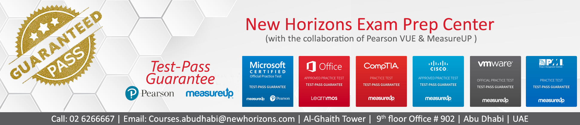 New Horizons Abu Dhabi | Computer Training & Certification