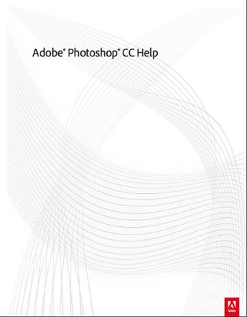 Free Resource Adobe Photoshop Creative Cloud Help