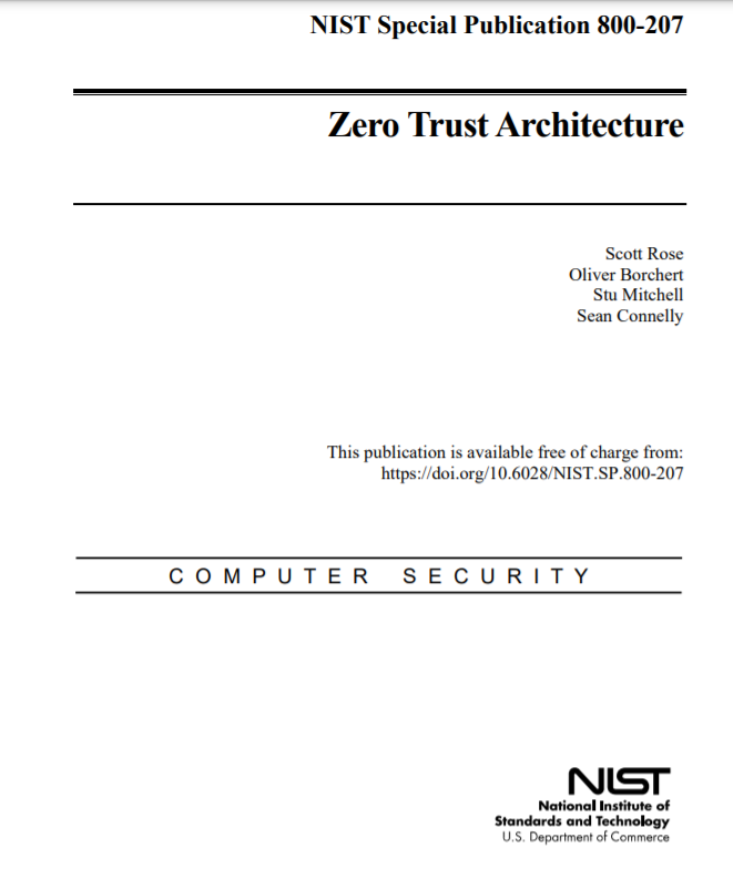 ZeroTrustArchitecture-NIST
