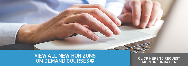 New Horizons On Demand Courses