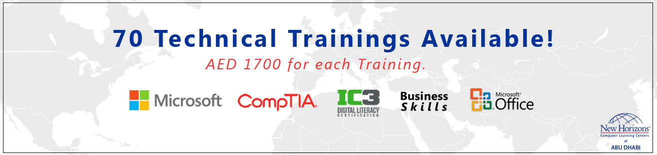Technical and application trainings from new horizons abu dhabi
